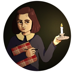 Look how a single candle can both defy and define the darkness. - Anne Frank