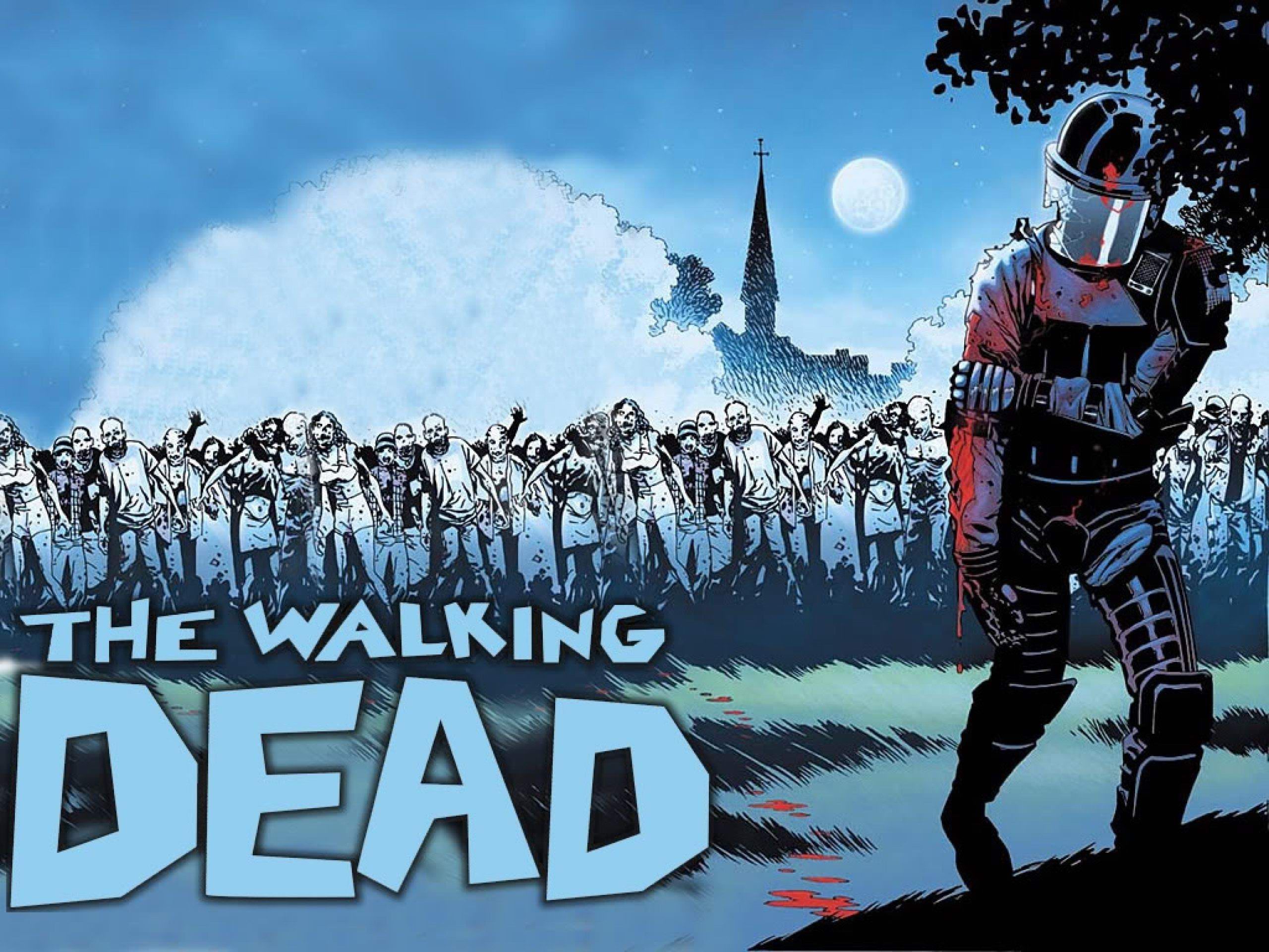 Tv Comics Walking Dead Show The